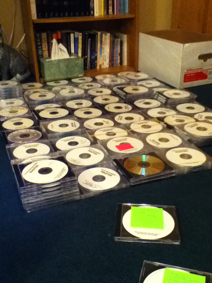 Phase 2: The CDs!
