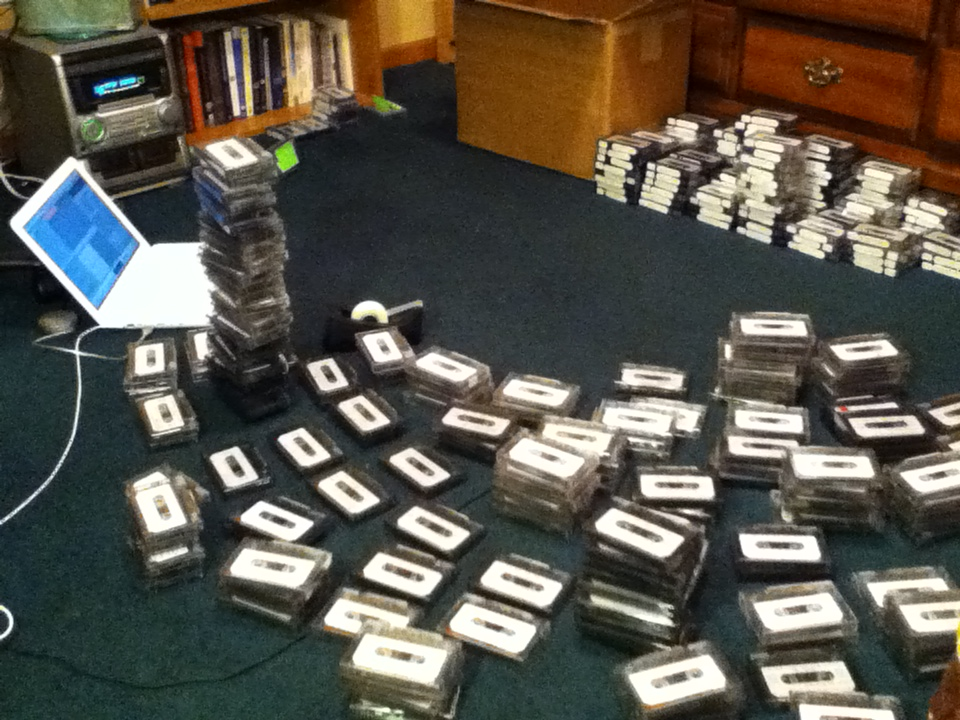 Phase 3: Cassette tapes!