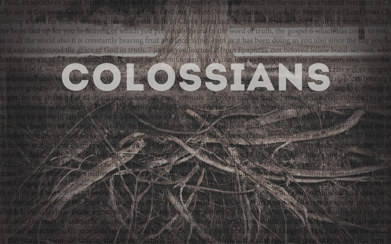 ROCK-colossians-PPT